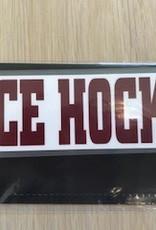 Colorshock Colorshock Ice Hockey car stickers-rectangular