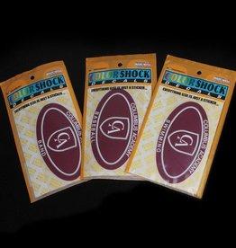 Colorshock Colorshock Baseball car stickers - oval