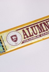 Colorshock Colorshock CA Alumni car stickers - rectangular
