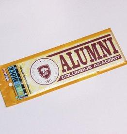 Colorshock Colorshock CA Alumni car stickers - rectangular