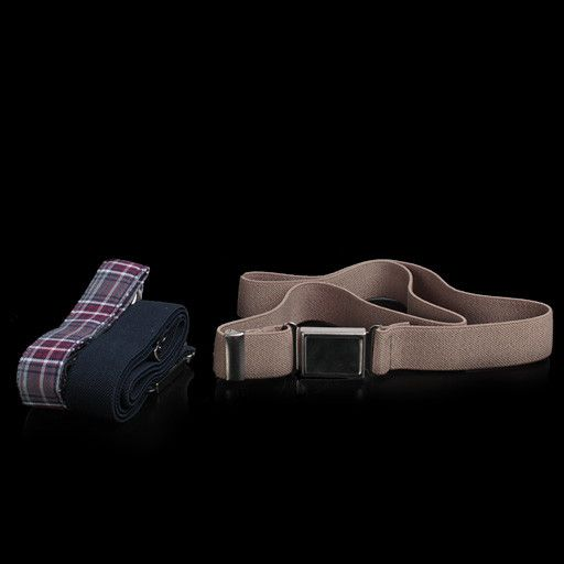 Educational Outfitters Educational Outfitters D Ring Plaid Belt