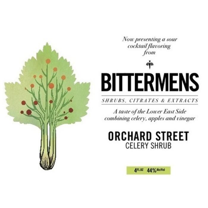 Bittermens Orchard Street Celery Shrub, 5oz