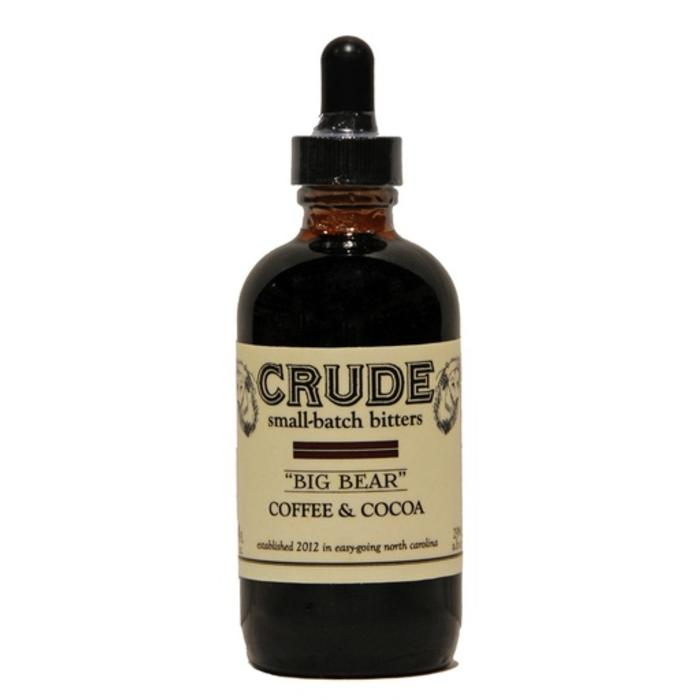 "Crude ""Big Bear"" Coffee & Cocoa Bitters"