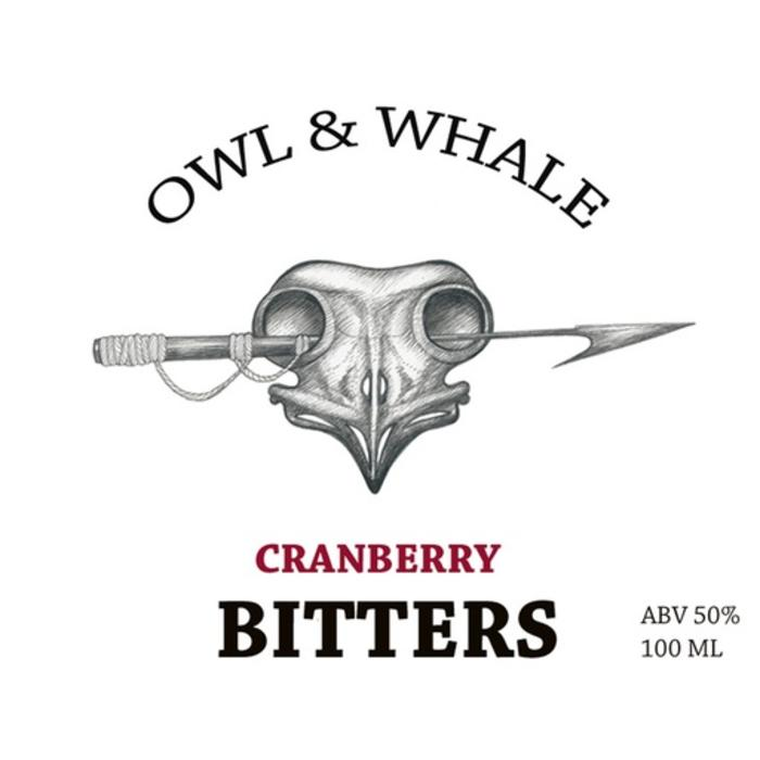 Owl and Whale Cranberry Bitters, 100 ml