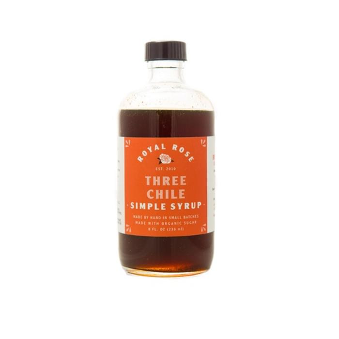 Royal Rose Three Chiles Syrup, 8 oz.
