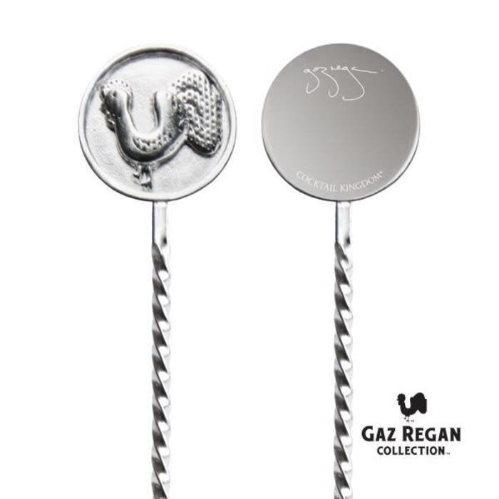 Gaz Regan Finger Barspoon, 35cm Stainless