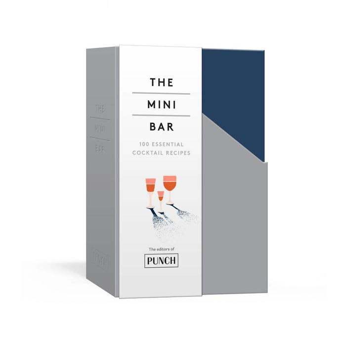 The Mini Bar: 100 Essential Cocktail Recipes; 8 Notebook Set; by PUNCH Magazine