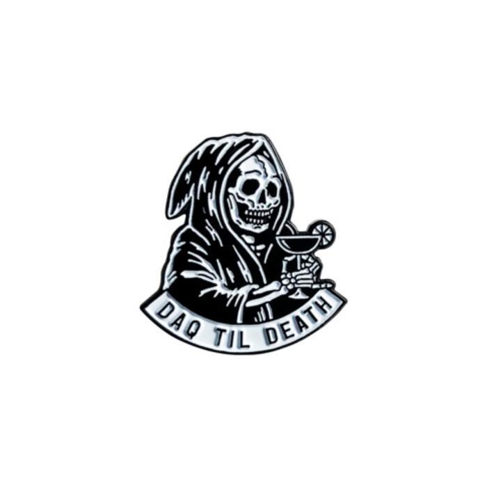 Mover & Shaker Daq Til Death Pin, Enamel