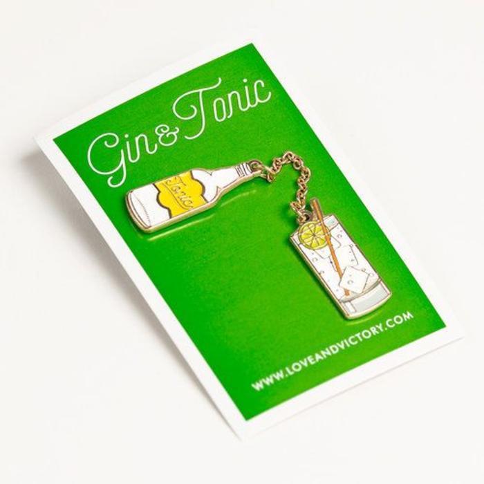 Love & Victory Gin & Tonic Pin