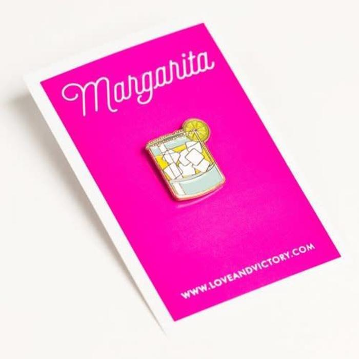 Love & Victory Margarita Pin