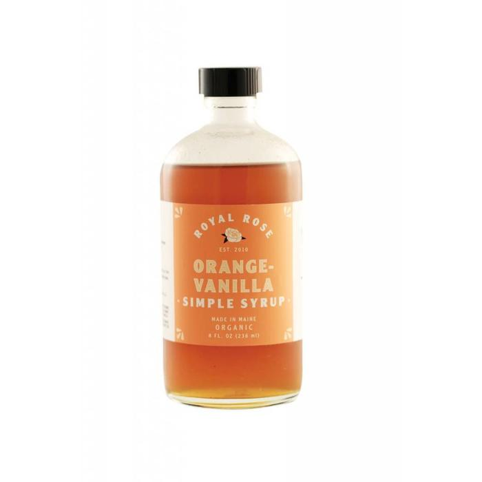 Royal Rose Orange Vanilla Syrup, 8 oz.