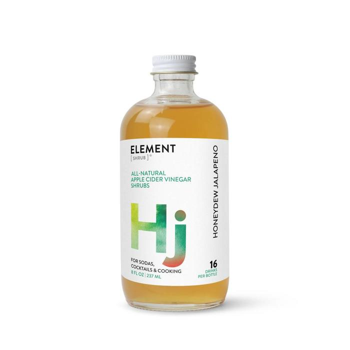 Element Shrub Honeydew Jalapeno Shrub, 8oz