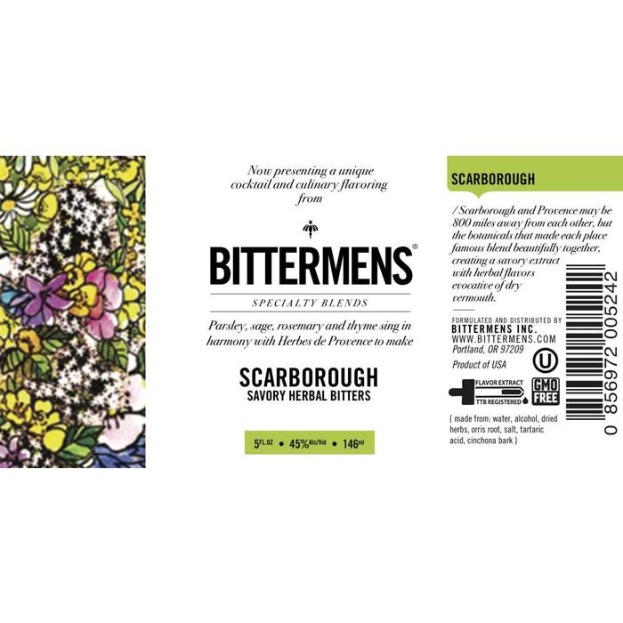 Bittermens Scarborough Bitters, 5oz