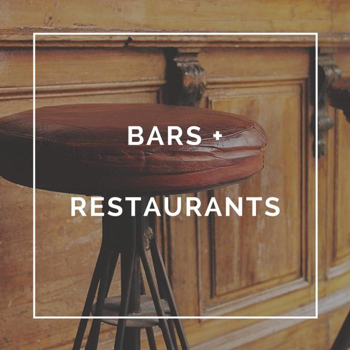 Bars + Restaurants
