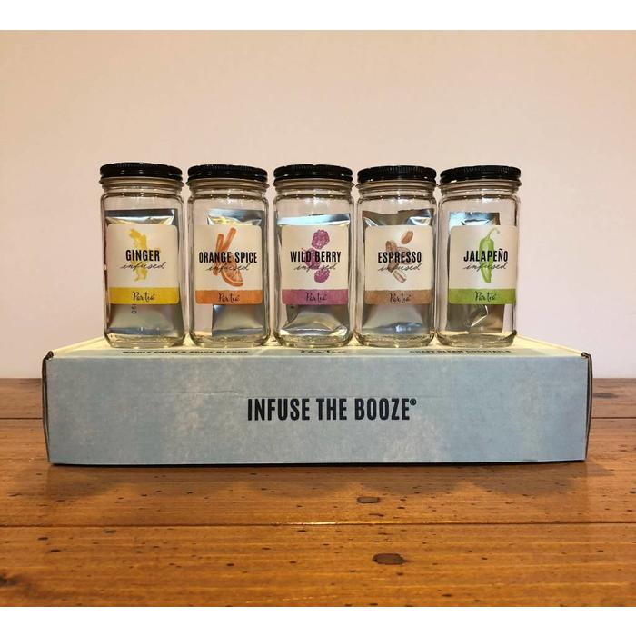 ParTea Time Booze Infuser, Sample Set