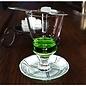 Pontarlier Absinthe Glass, 1oz reservoir
