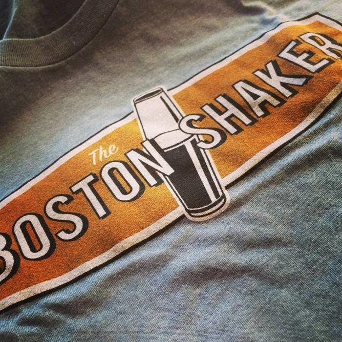 The Boston Shaker Logo T-Shirt