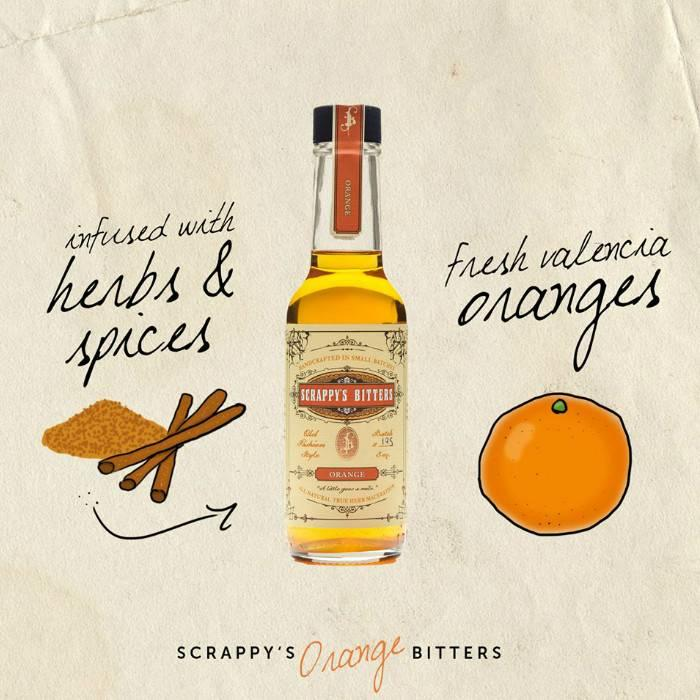 Scrappy's Orange Bitters, 5 oz.