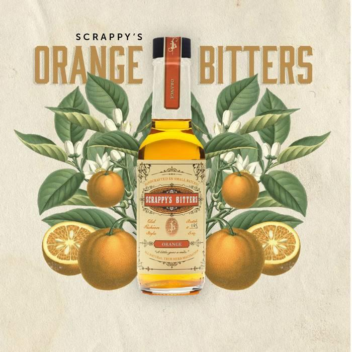Scrappy's Orange Bitters, 5 oz.