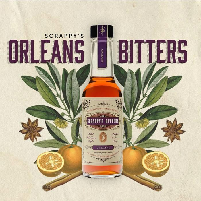 Scrappy's Orleans Bitters, 5 oz.