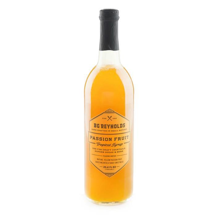 B.G. Reynolds Passion Fruit Syrup, 375ml