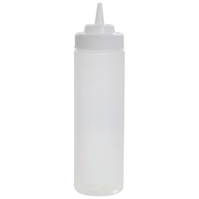 Widemouth Squeeze Bottle, 24oz w/ cap