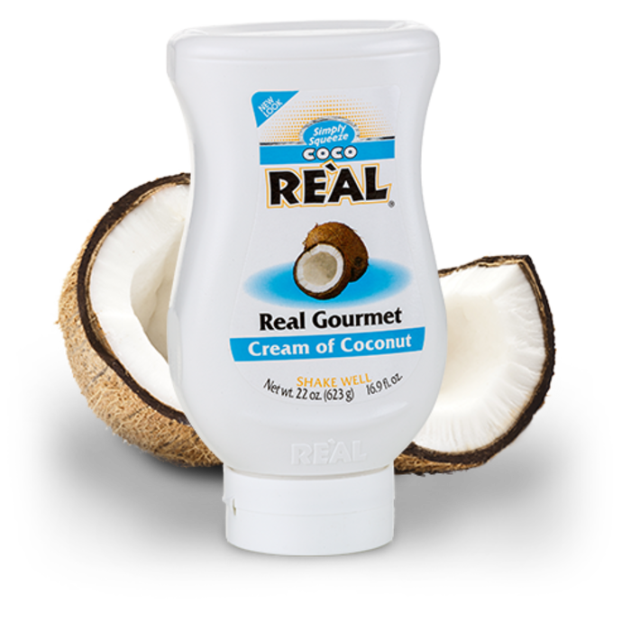 Coco Real Cream of Coconut Syrup, 22oz