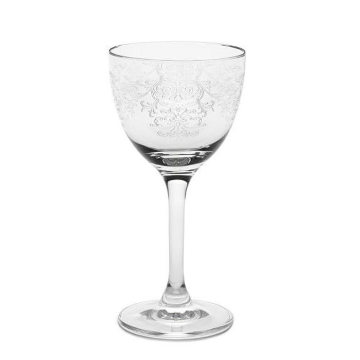 Nick & Nora Glass, Vintage Lace