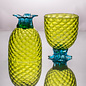 Hand Blown Coppa de Pina, Lime 12oz