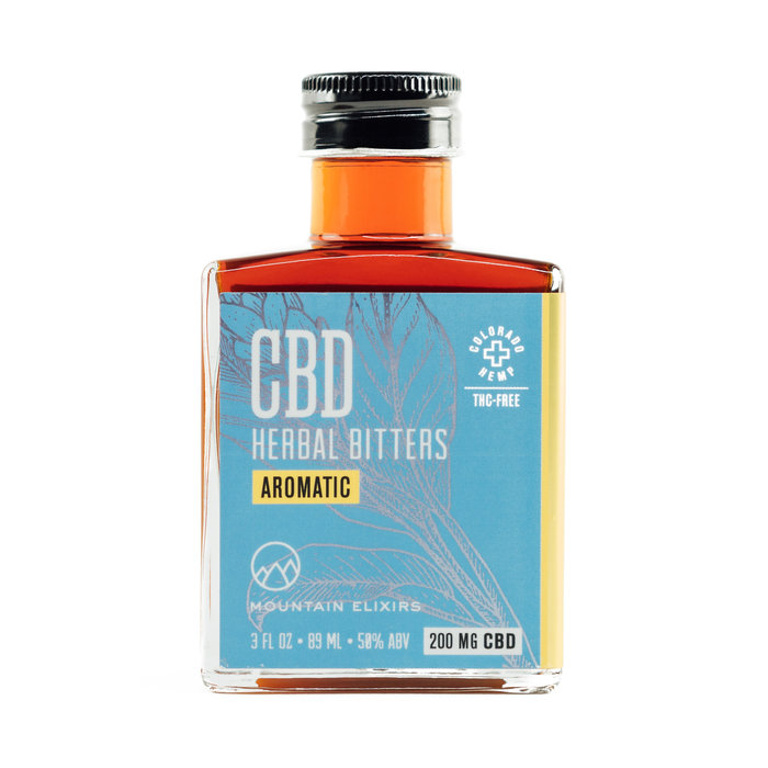 Strongwater CBD Aromatic Bitters, 3oz