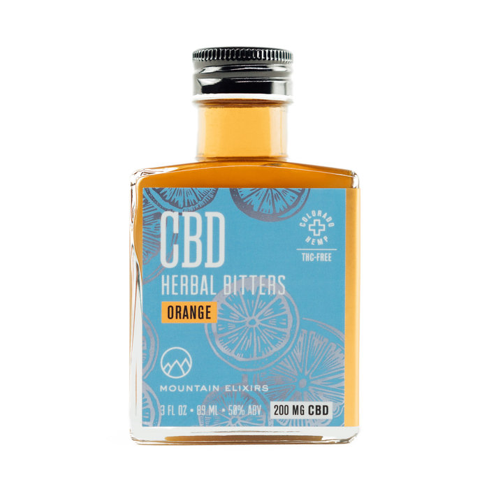 Strongwater CBD Orange Bitters, 3oz
