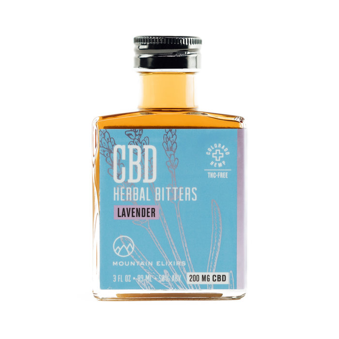 Strongwater CBD Lavender Bitters, 3oz
