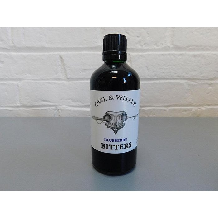 Owl and Whale Blueberry Bitters, 100 ml