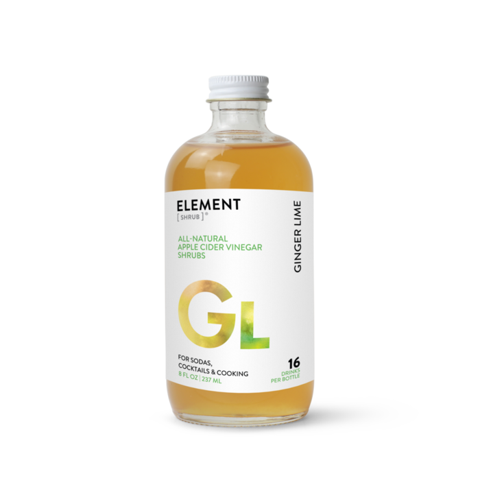 Element Ginger Lime Shrub, 8oz