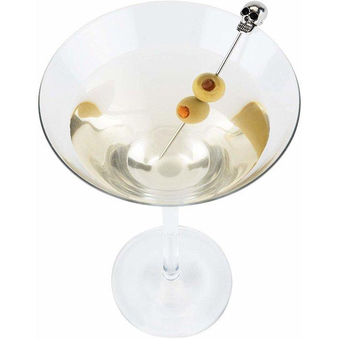 Skull Cocktail Picks, 4-pk