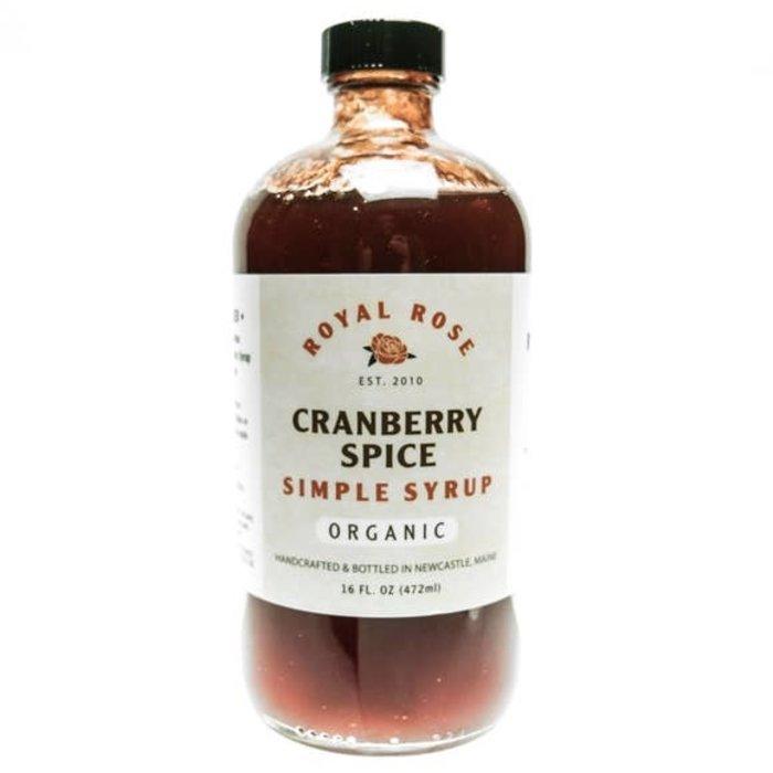 Royal Rose Spice Cranberry Syrup, 8 oz.