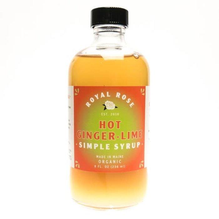 Royal Rose Hot Ginger-Lime Syrup, 8 oz.