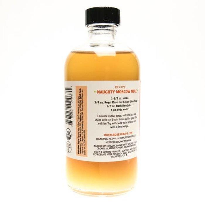Hot Ginger-Lime Syrup, 8 oz.