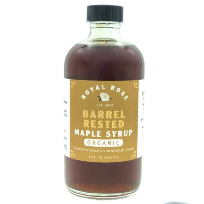 Royal Rose Barrel-Rested Maple Syrup, 8 oz.