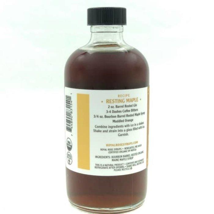 Royal Rose Barrel-Rested Maple Syrup, 8 oz.