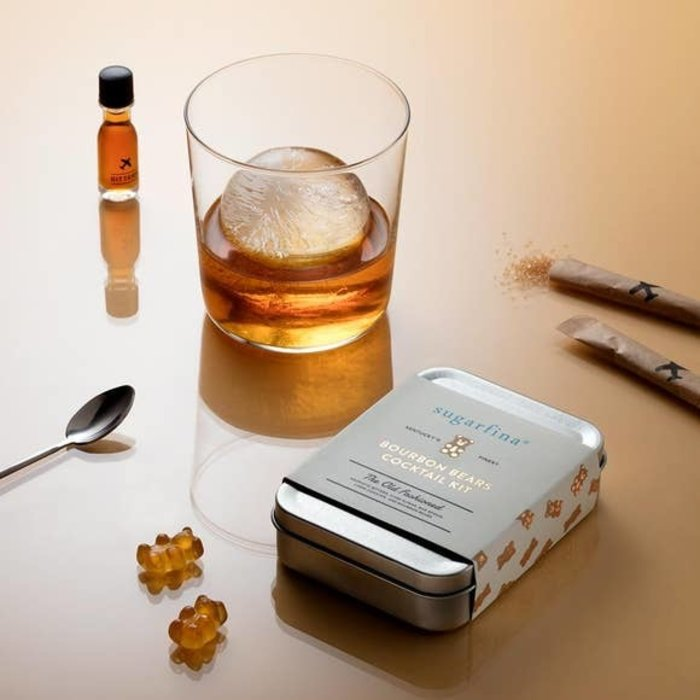 The Carry on Cocktail Kit - The Old Fashioned, w/ Sugarfina Bourbon Bears