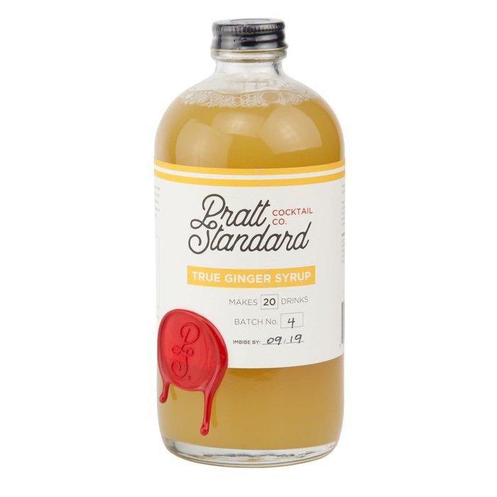 Pratt Standard Ginger Syrup, 16oz