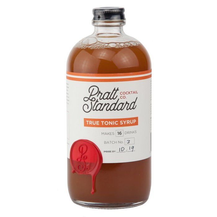 Pratt Standard Tonic Syrup, 16oz