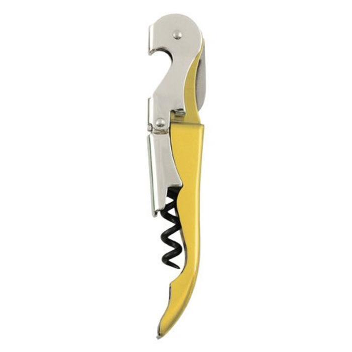 Double-hinged Wine Key / Corkscrew, Gold