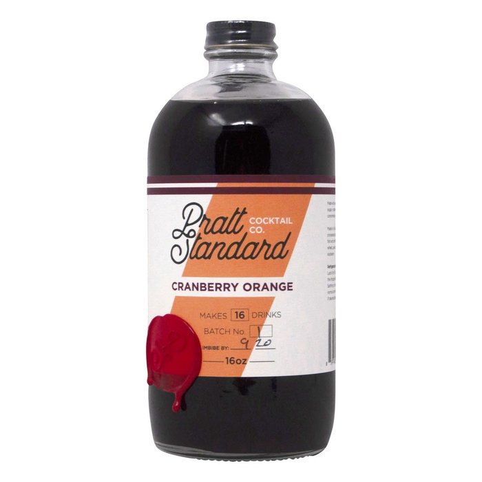 Pratt Standard Cranberry Orange Syrup, 16oz