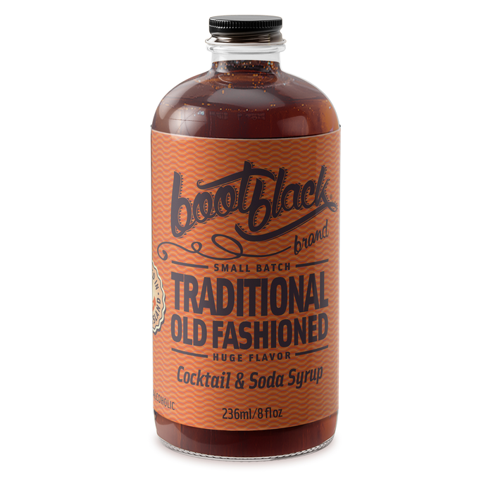 Bootblack Traditional Old Fashioned Syrup, 8oz