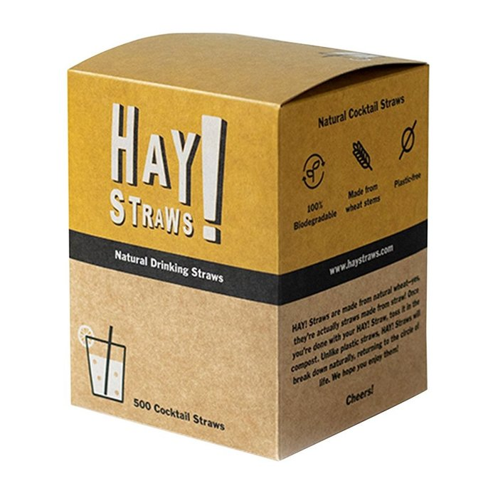 "Hay! Straws, 5"" 500ct"
