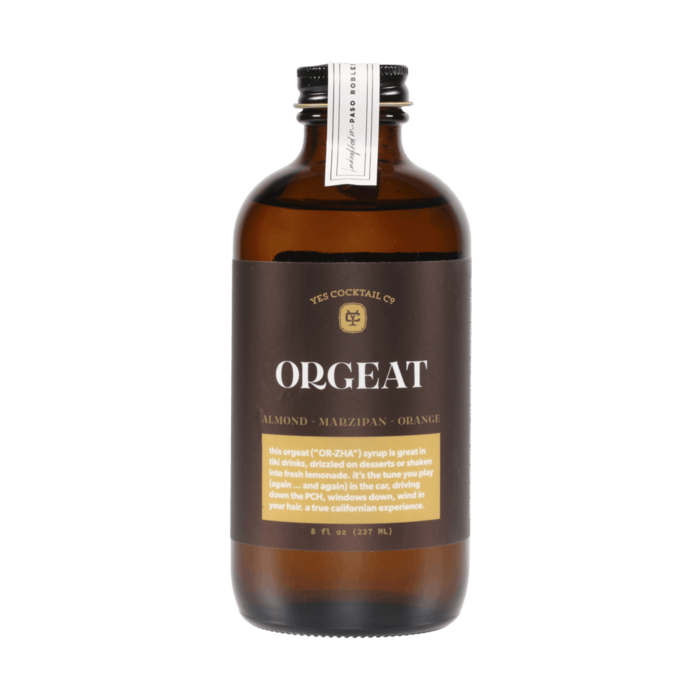 Yes Cocktail Co. California Almond Orgeat Syrup, 8oz