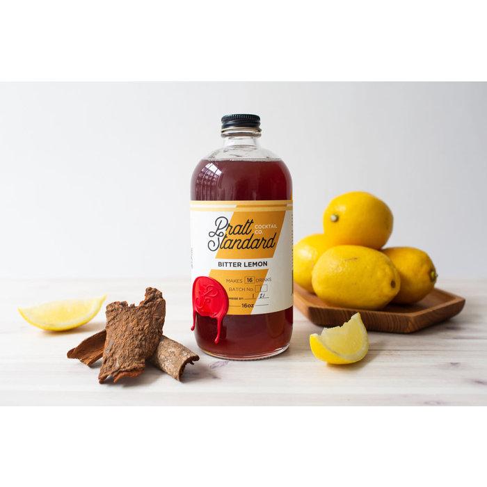 Pratt Standard Bitter Lemon Syrup, 16oz