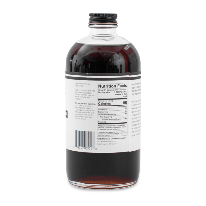 Pratt Standard Rich Simple Syrup, 16oz